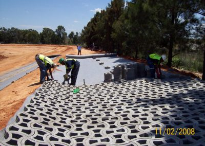 Terrafix grass concrete paver by Remacon Products