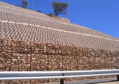 gabion and terrafix