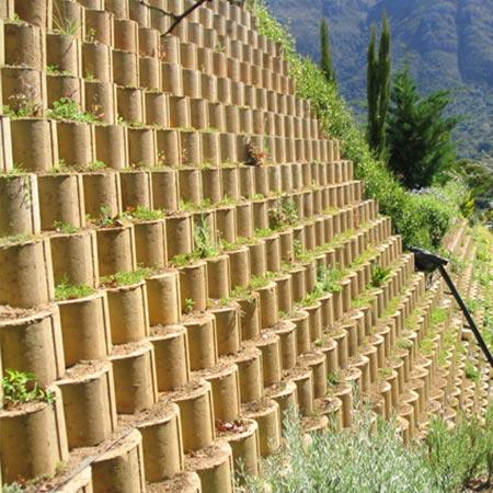 Remacon Products Terraforce L11 concrete blocks retaining walls Silvio Ferraris