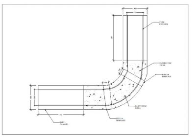 Application and Usage Sketch for use of the Concrete Trapezoidal Channel by Remacon