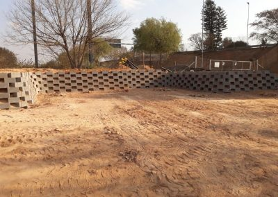 RemRock 220 Smooth Face Retaining Wall by Remacon